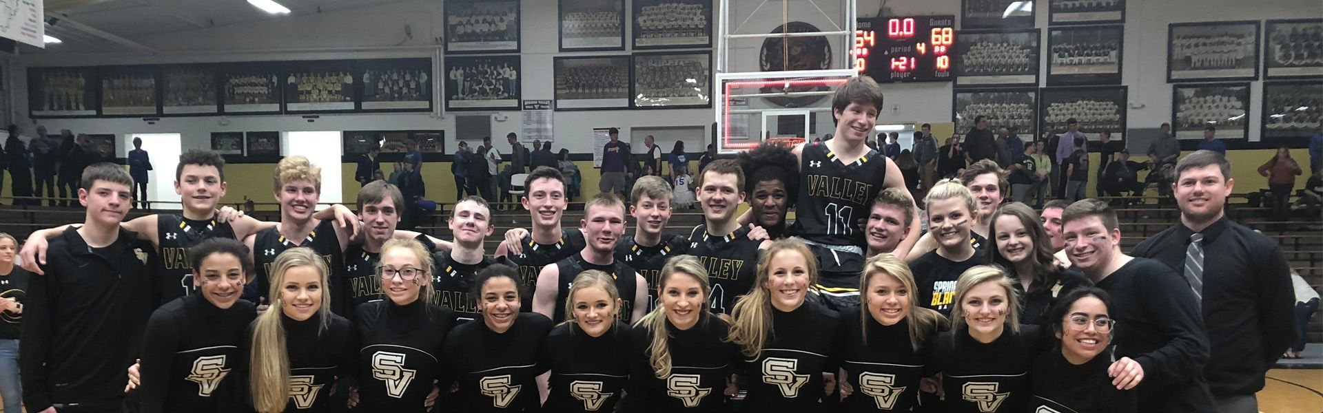 2018 Bball Section Win